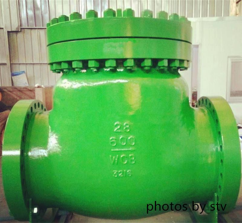 A216 WCB Swing Check Valve,28 Inch,600LB,RF End,Swing Check Valve,600LB Swing Check Valve,Flange End Swing Check Valve,WCB Swing Check Valve,stv,Pumps, Valves and Accessories/Valves/Check Valves