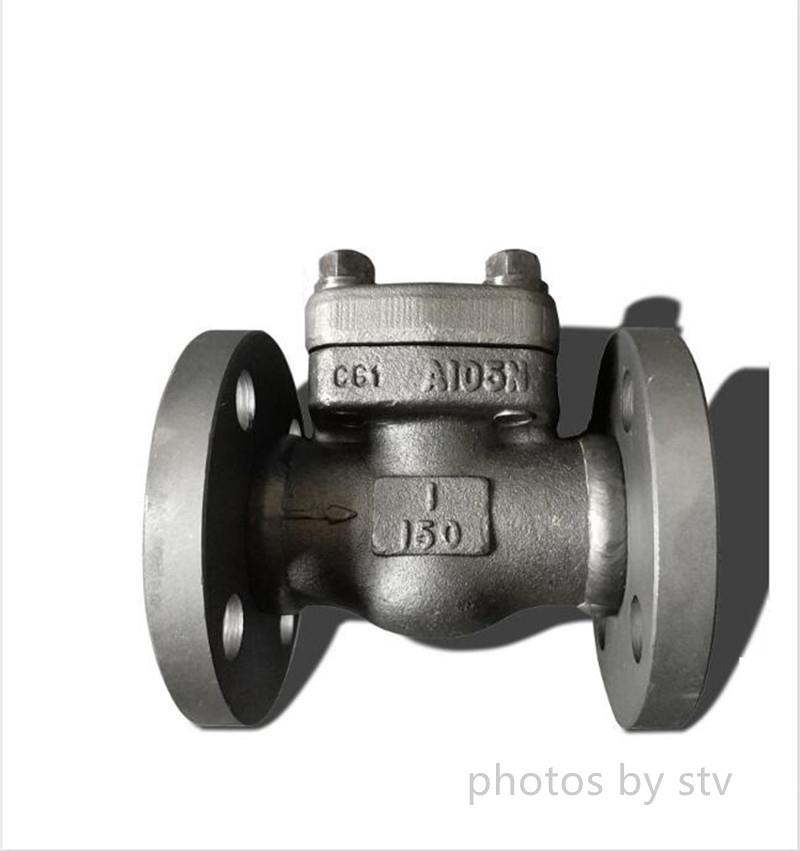 F304 Swing Check Valve,DN20,150LB,Welding Flange End