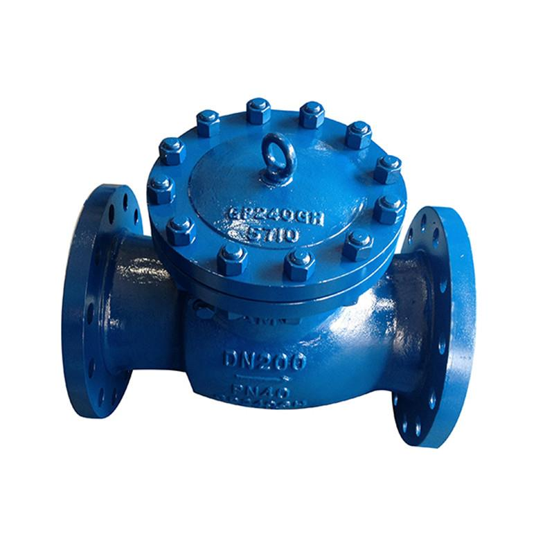 DIN Swing Check Valve,WCB,DN200,PN40,Swing Check Valve,DIN Swing Check Valve, DIN 3356 Check Valve, DN200 Swing Check Valve, PN40 Swing Check Valve, WCB Check Valve,stv,Pumps, Valves and Accessories/Valves/Check Valves