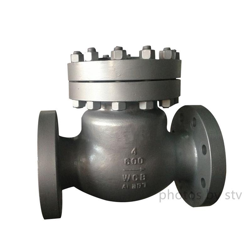 JIS 20K Swing Check Valve,DN100,Flanged End,WCB