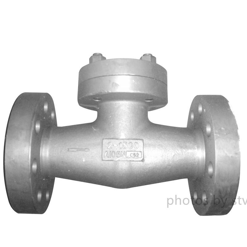 Integral Flange Swing Check Valve,A105N,1500LB,2 Inch, API 602,Integral Flange Swing Check Valve,A105 Swing Check Valve,1500Lb Swing Check Valve,2 Inch Swing Check Valve.API602 Swing Check Valve,Raised Face Swing Check Valve,stv,Pumps, Valves and Accessories/Valves/Check Valves