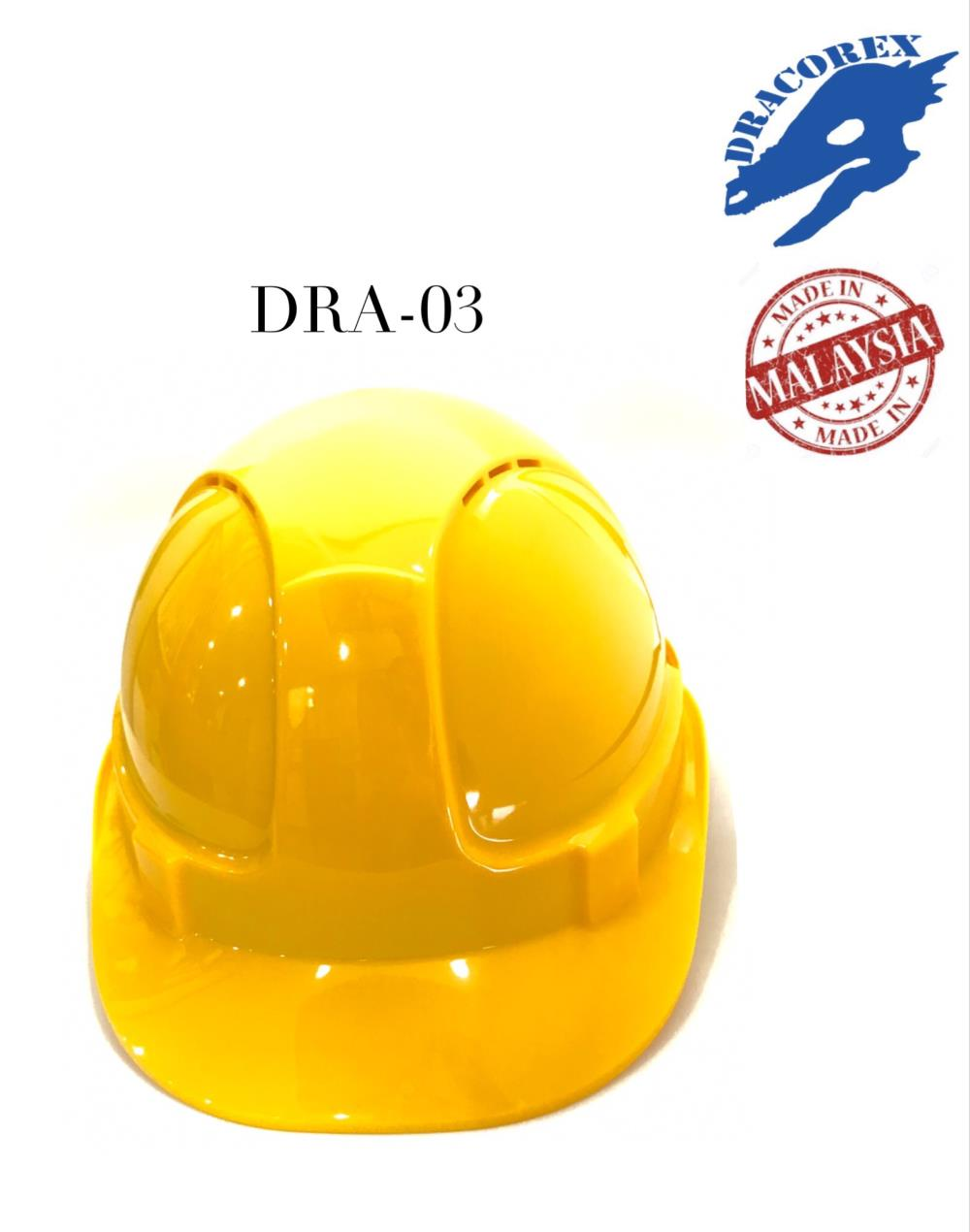 หมวกนิรภัย,หมวกเซฟตี้,DRACOREX,Plant and Facility Equipment/Safety Equipment/Head & Face Protection Equipment