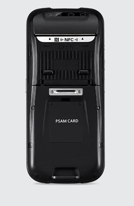 Chainway C75 Mobile Computer Android 4G WiFi Bluetooth Printer PSAM 1D Barcode Printer PSAM 2D Barcode IRIS NFC Camera GPS Shining Modern Body, การพิมพ์ที่มีประสิทธิภาพบนมือถือ