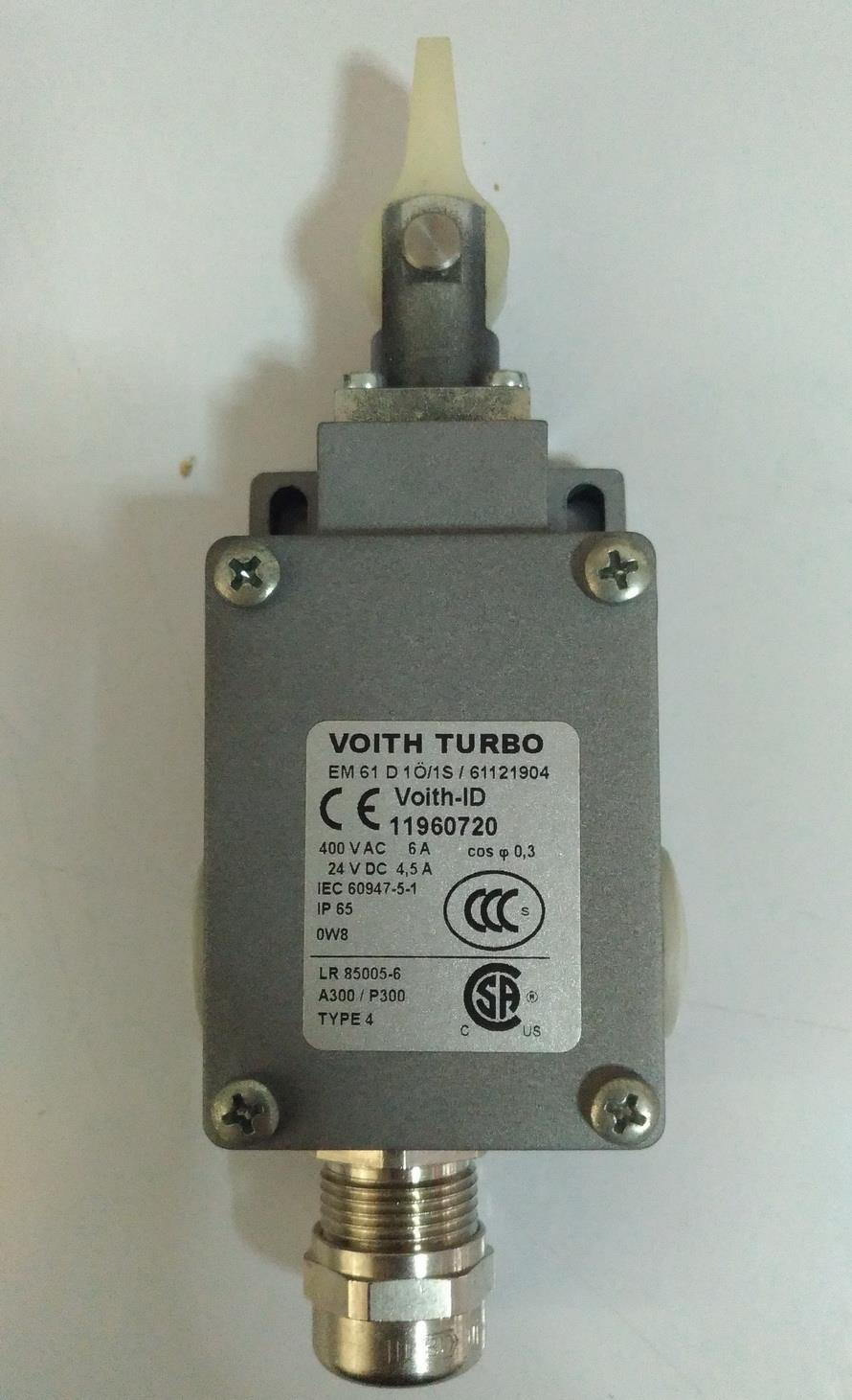 EM61 Limit Switch(Voith),Limit Switch, Switch,  ED 61 D10/1S, Voith, Coupling, Components,VOITH,Instruments and Controls/Switches