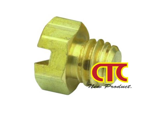 CTC Clippard Screw Brass Plug 11755,Fitting,Clippard,Hardware and Consumable/Fittings
