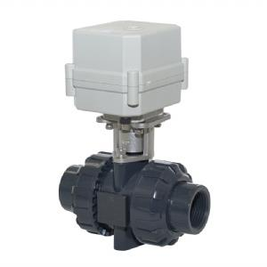 UPVC บอลวาล์วไฟฟ้า  DN15, UPVC บอลวาล์วไฟฟ้า,Tonhe,Pumps, Valves and Accessories/Valves/Ball Valves