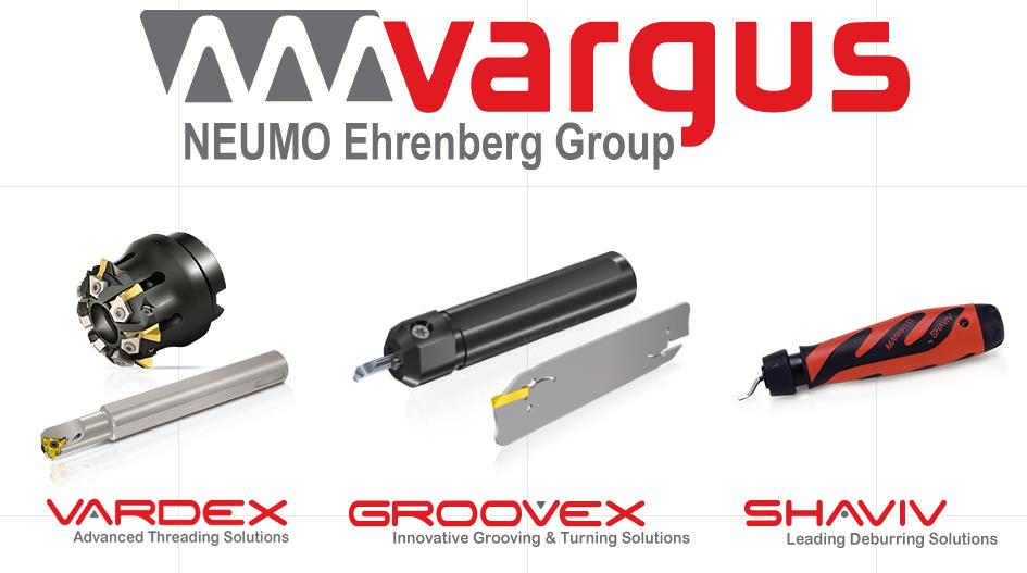 Vargus precision threading, grooving, turning and hand deburring tools.