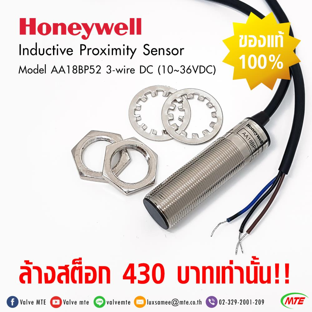 Inductive Proximity Sensor,Inductive Proximity Sensor, Honeywell, AA18BP52,Honeywell ,Instruments and Controls/Sensors