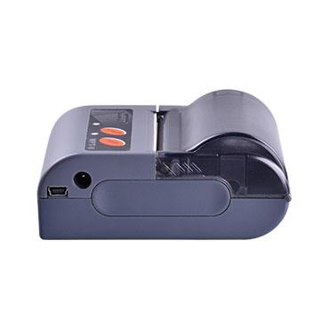 "MPT2 ปริ้นเตอร์ 2 Mobile Receipt Printer Micro USB Serial Port Bluetooth 4.0 #HPRT Battery 7 4V rechargeable Li ion battery 1500mAh รองรับกระดาษความร้อน Paper Width 58 mm พิมพ์เร็ว 50 mm/s มี Power Saving Sleep Mode YES Memory RAM 20 KB Flash 2 MB มี LED indicator Power Red  MPT2O  2"" Mobile Receipt Printer • Light and compact design • Paper roller diameter: 40mm • Support Bluetooth communication • Provide WinCE and Android SDK  Printing Print Method Direct Thermal Resolution 203 dpi (8 dots/mm) Print Speed Max. 50 mm/s Print Width 48 mm Power Saving Sleep Mode YES Interface Standard MicroUSB, Serial Port, Bluetooth 4.0  Option N/A Memory  RAM 20 KB Flash 2 MB  Programming ESC/POS Fonts Alphanumeric; Simplified Chinese, Traditional Chinese; 42 International Character Sets  Barcode Linear Barcodes UPC-A, UPC-E, EAN-8, EAN-13, CODE 39, ITF, CODEBAR, CODE 128, CODE 93 2D Barcodes QR Code  Graphics Support bitmap printing with different density and user defined bitmap printing (Max. 40KB f"