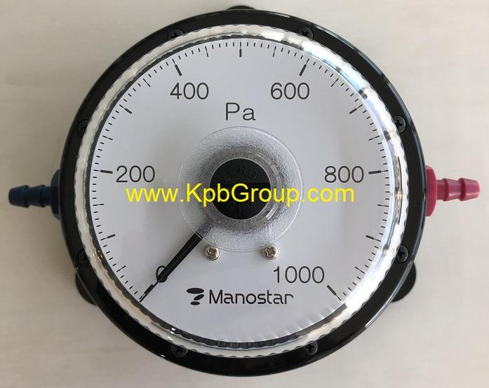 MANOSTAR Low Differential Pressure Gauge WO81FN1000D,WO81, WO81FN1000D, MANOSTAR, YAMAMOTO, Pressure Gauge, Differential Pressure Gauge ,MANOSTAR,Instruments and Controls/Gauges