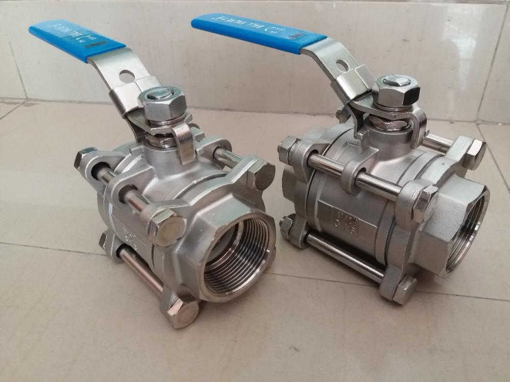 BALL VALVE 3PC FULL BORE,BALL VALVE 3PC FULL BORE SS316/SCREWED,Flow,Pumps, Valves and Accessories/Valves/Ball Valves