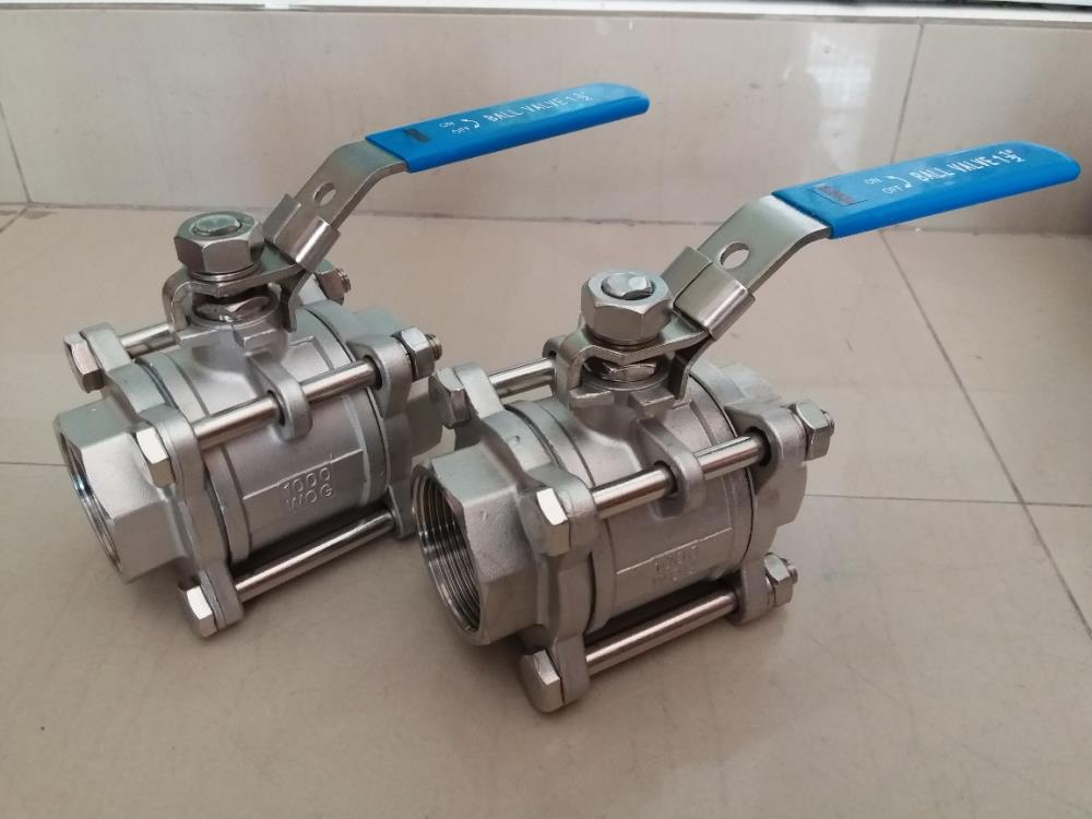 BALL VALVE 3PC FULL BORE
