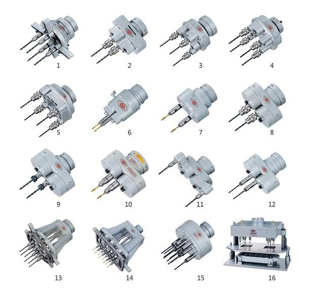 Drilling tapping Head,Multiple spindle drilling tapping head,หัวเจาะต๊าปหลายหัว,Machinery and Process Equipment/Machinery/Tapping Machine