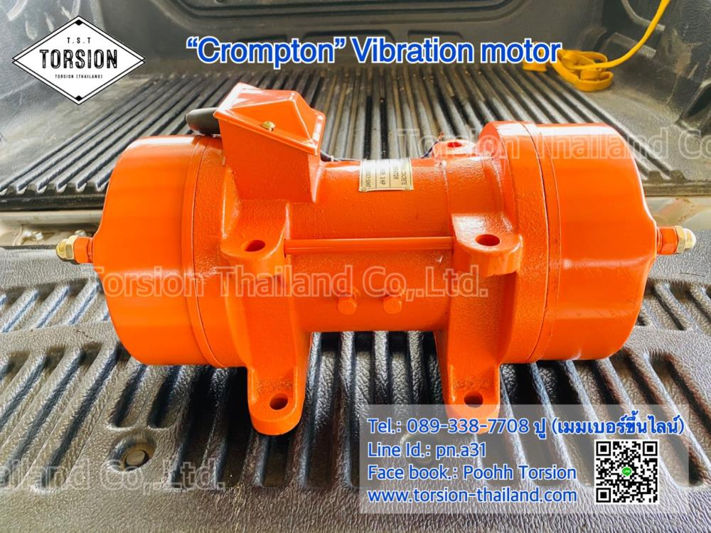 """CROMPTON"" Vibration Motor Model : ZW-7P,มอเตอร์เขย่า , มอเตอร์สั่น , Vibrations motor , OLI Vibration , มอเตอร์เขย่าสแตนเลส , CROMPTON ,CROMPTON,Machinery and Process Equipment/Equipment and Supplies/Vibration Control"