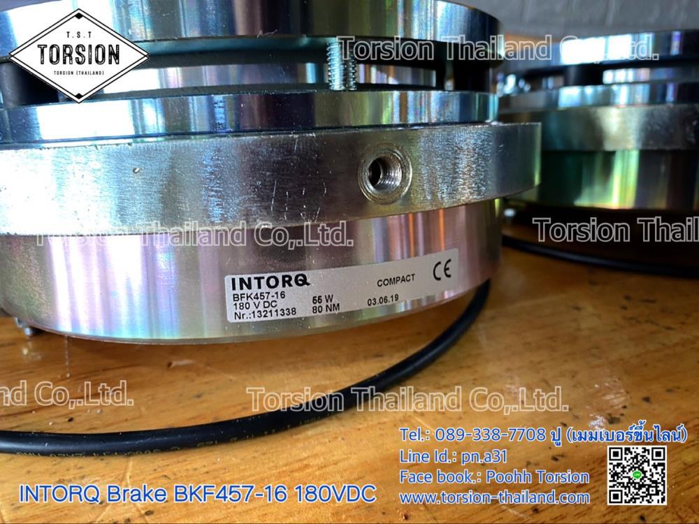 """เบรคมอเตอร์ Brake motor """"INTORQ"""" Brake BFK457-16 180VDC"""