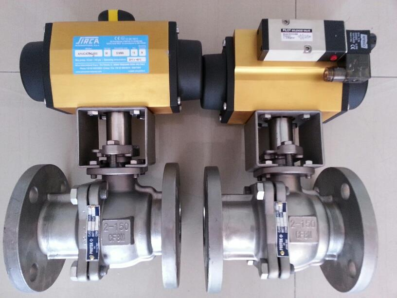 BALL VALVE 2PC FLANGED WITH PNEUMATIC ACTUATOR,BALL VALVE 2PC  FULL BORE,Flow,Pumps, Valves and Accessories/Valves/Ball Valves
