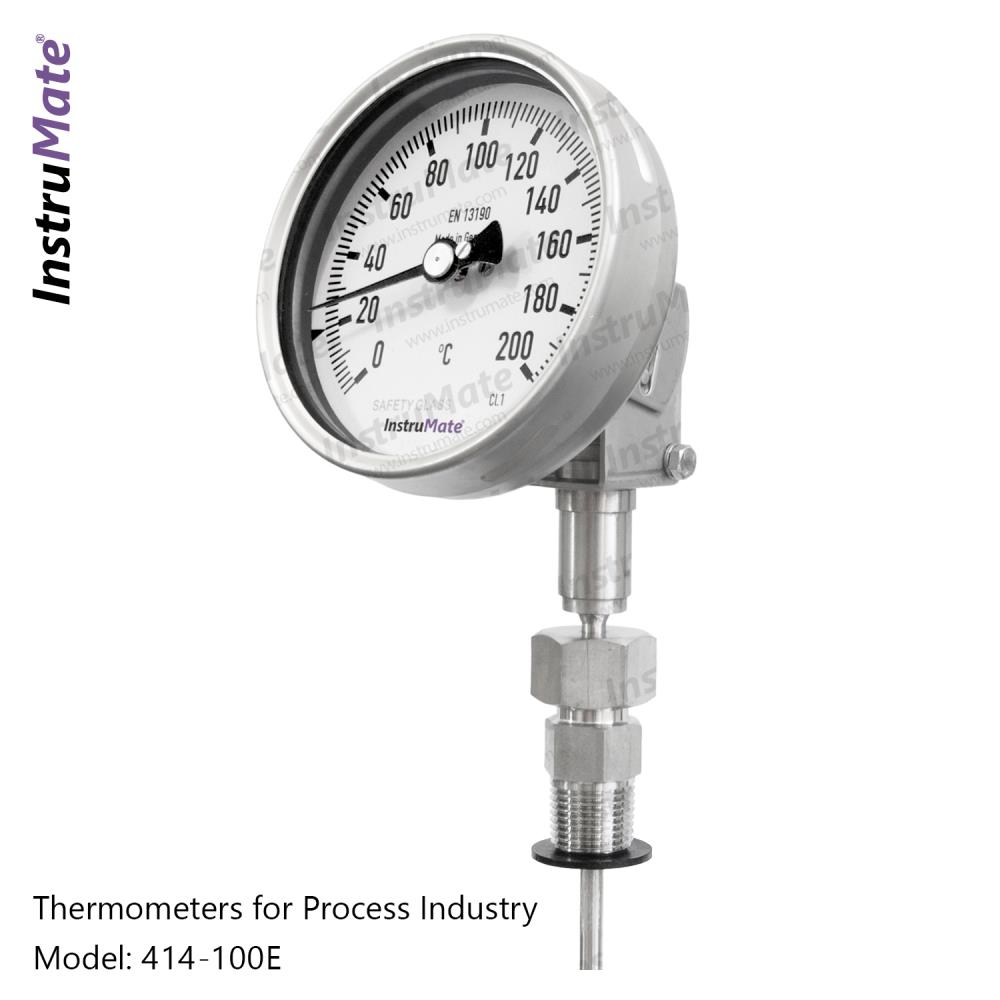 """Bimetal Thermometer ,Temp Gauge,""""InstruMate"""" ,Instruments and Controls/Thermometers"""